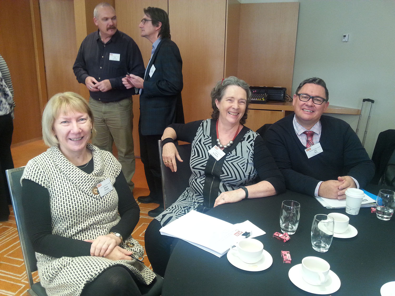 NADPE – ACT, NT and TAS members – at Meeting on 6 May 2016