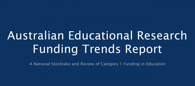 ACDE Report on Educational Funding Research Trends released